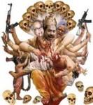 Indiens og Sri Lankas blodtørst kræver 50 - 60 civile tamilersliv hverdag